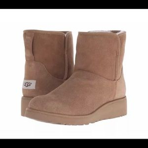 BAILEY FLUFF BUCKLE UGG BOOTS SZ 5.5 NWB AUTHENTIC